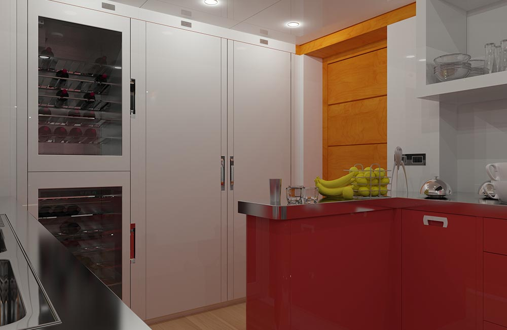 Custom refrigerators and freezer