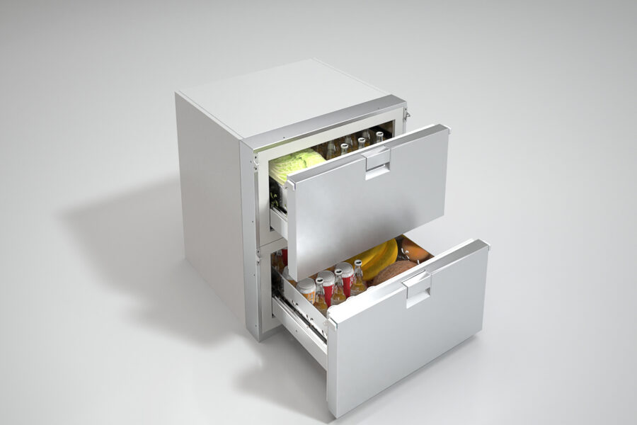 Refrigerator with drawers